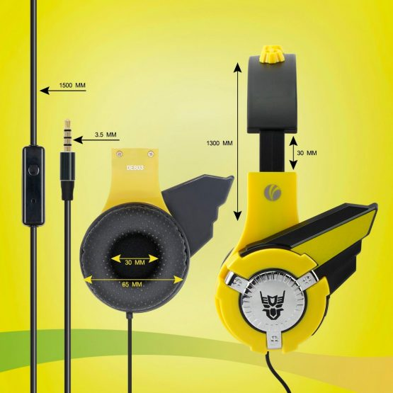 Vcom Auriculares para Niños The Hero Headphone DE803 5