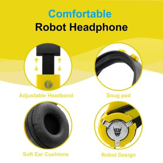 Vcom Auriculares para Niños The Hero Headphone DE803 7