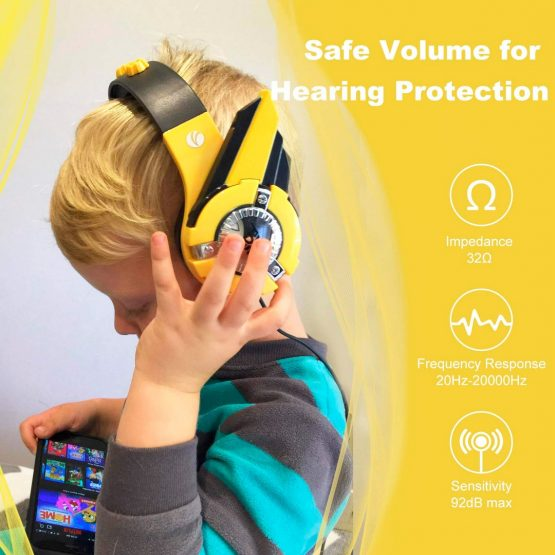 Vcom Auriculares para Niños The Hero Headphone DE803 8