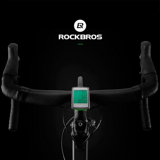Ciclometro Rockbros BC18-L21 / 18 Funciones Ip65 7