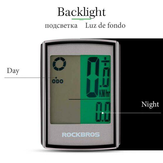 Ciclometro Rockbros BC18-L21 / 18 Funciones Ip65 5