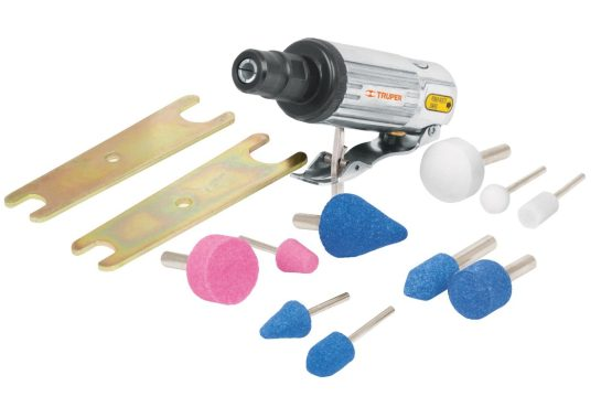 Kit Rectif. TPM-876 + Piedras + Adaptador + Llave Truper TPN-876K-2 1