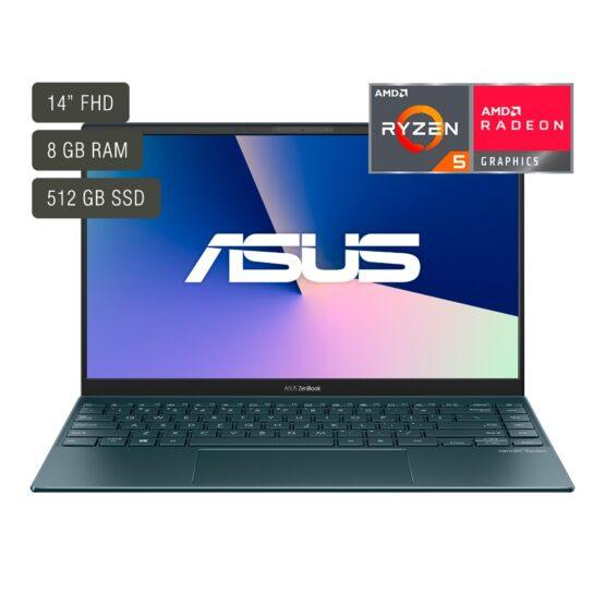 """Notebook Asus Zenbook/ 14""""/ Ryzen 7/ 8Gb/ 512Gb/ Win10 1"""
