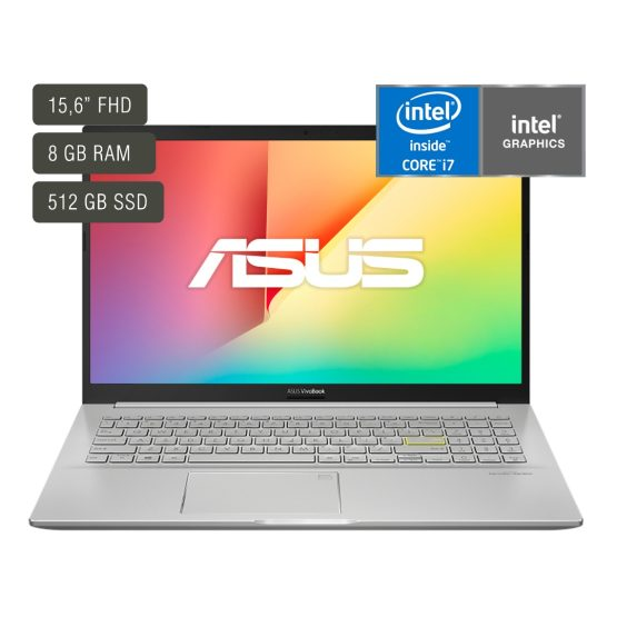 "Notebook Asus Vivobook/ 15,6""/ Core I7/ 8Gb/ 512Gb/ Win10 1"