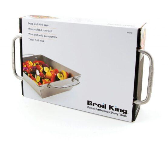 Wok Profundo Broil King de Acero Inoxidable 3