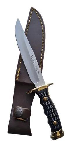 Cuchillo De Caza Deportivo Acero Inoxidable Muela 7120 con Funda 1
