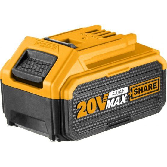 Bateria 4 AH Litio 20 VOLT P20S Multi Herramientas Ingco FBLI2002 1