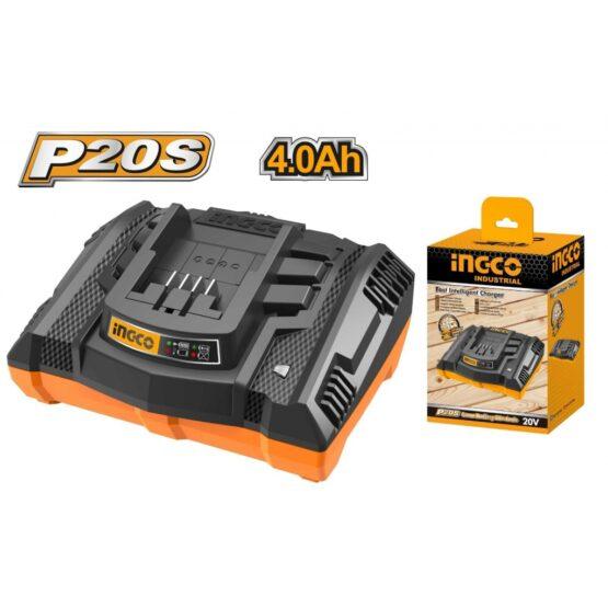 Cargador P20S 20V 4AH Ingco FCLI2003 1