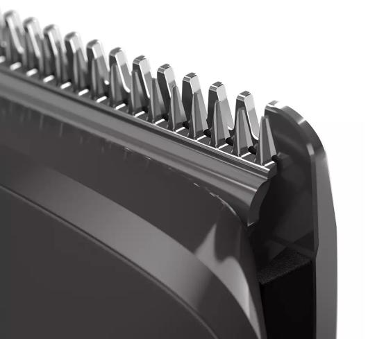 Cortabarba Philips Multigroom Serie 7000 12 en 1, Vello Facial, Corporal, y Cabello 4