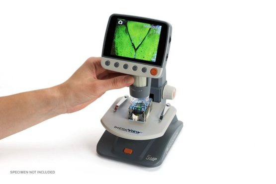 Microscopio Celestron Digital LCD Infinitiview 3