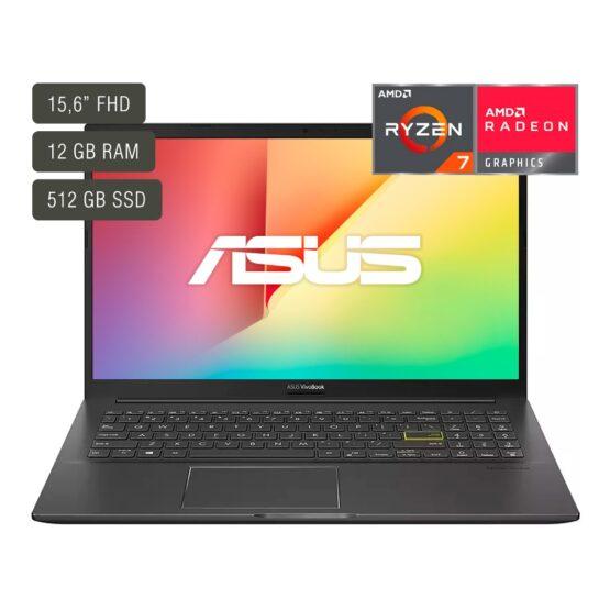 """Notebook Asus Vivobook M513 /15,6""""/ Ryzen 7/ 12Gb/ 512Gb/ Win10 1"""