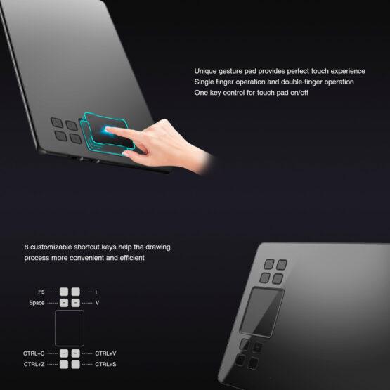 Tableta Digitalizadora Veikk Ambidiestro 10x6 5080lpi 2