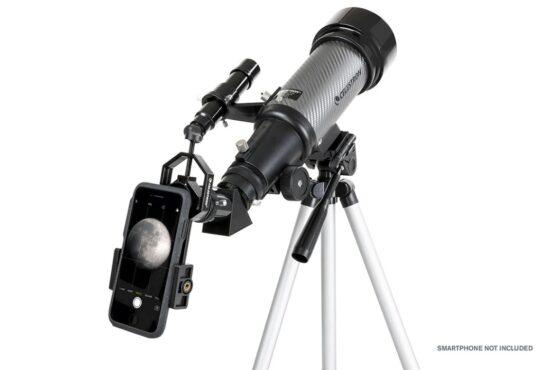 Telescopio Celestron Travel Scope 70 DX Portatil con Adaptador para Smartphone 6