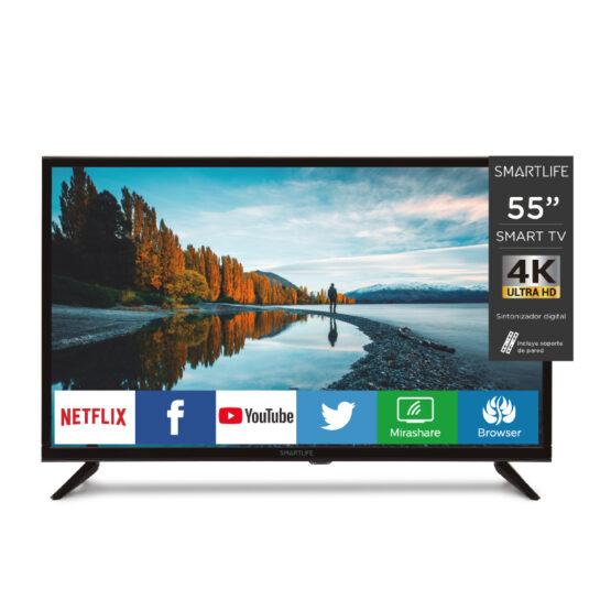 """Televisor Smartlife Led Smart TV 55"""" 4K 1"""